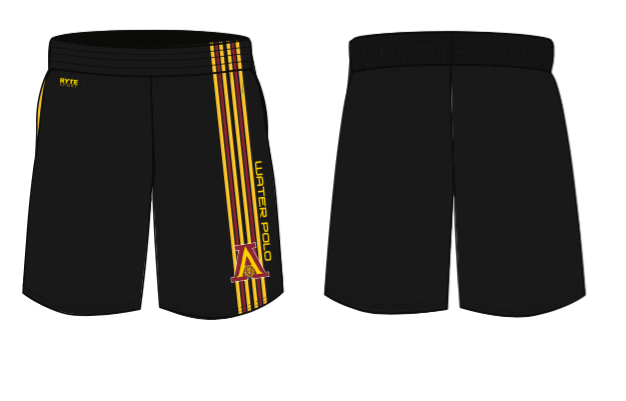 Arlington High School Water Polo 2020 Men's Gym Short