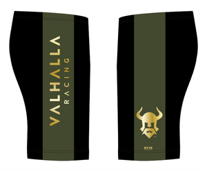 Valhalla Racing Custom Black & Gold Men's Jammer