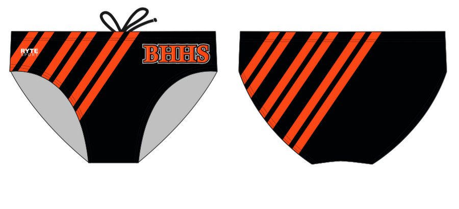 Beverly Hills High School Water Polo 2020 Custom Men's Water Polo Brief