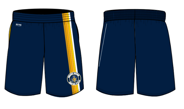 Grand Haven High School Water Polo 2021 Custom Men's Gym Short