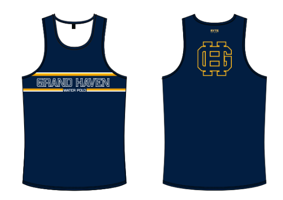 Grand Haven High School Water Polo 2021 Custom Men's Tank Top