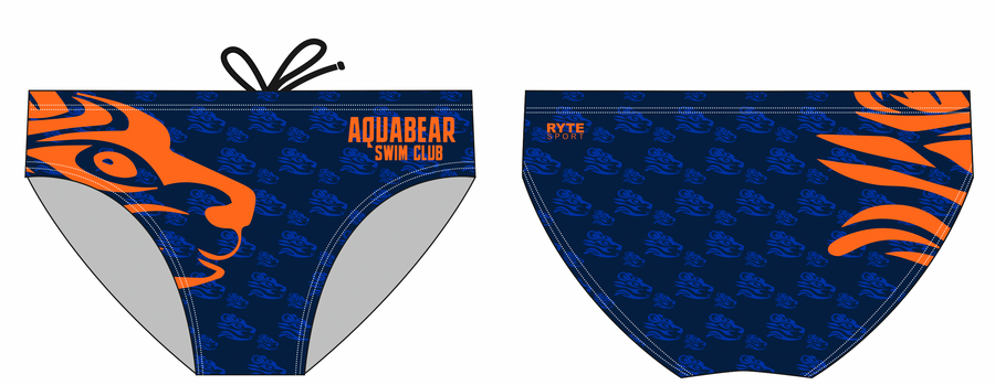 Aquabear Swim Club Custom Men's Swim Brief