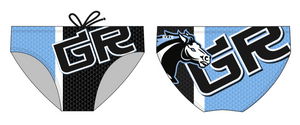 Granite Ridge Middle School Water Polo 2019 Custom Men's Water Polo Brief - Personalized