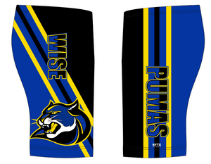 Dr. Henry A. Wise High School Swim 2019 Custom Men's Jammer