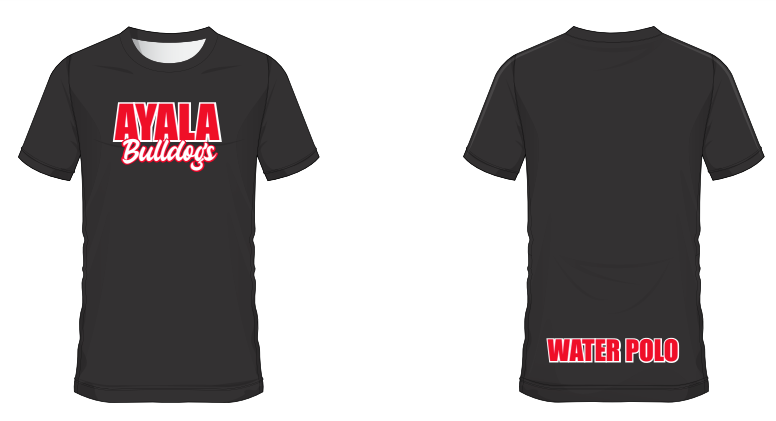 Ayala High School Water Polo 2019 Custom Black Unisex T-Shirt