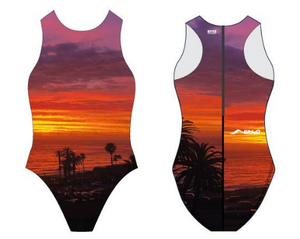West Hollywood Aquatics 2020 Custom Women's Water Polo Suit