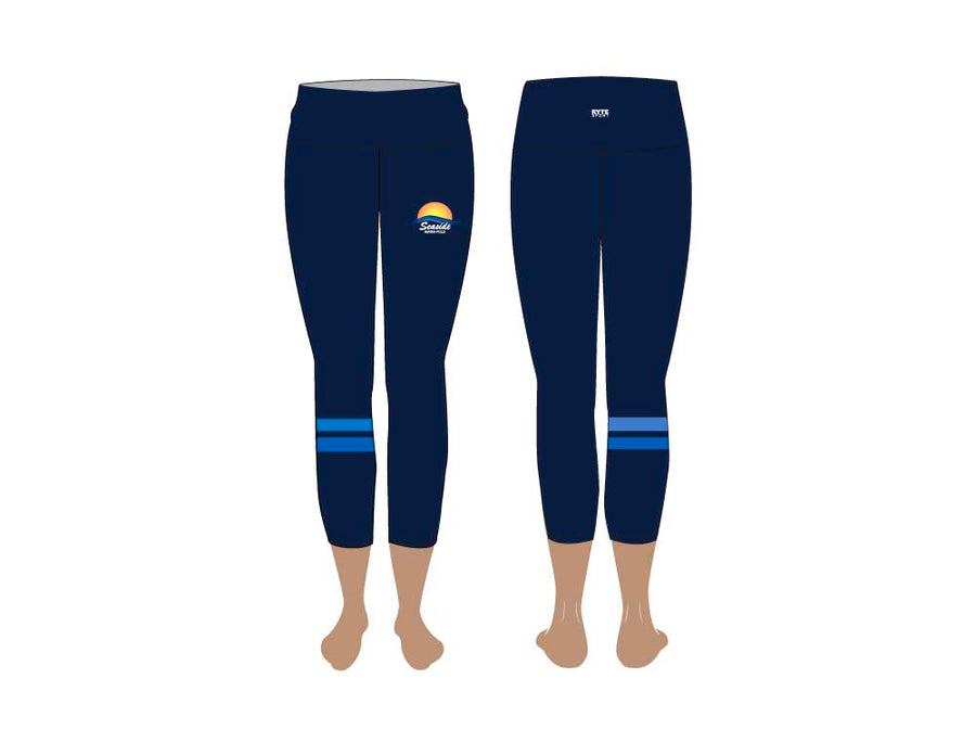 Seaside Water Polo Club High Waist Cropped Leggings