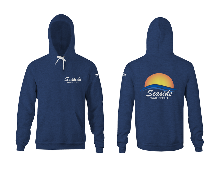 Seaside Water Polo Club Heathered Unisex Hoodie