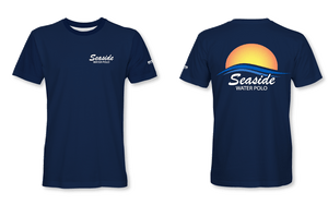 Seaside Water Polo Club Navy Unisex T-Shirt