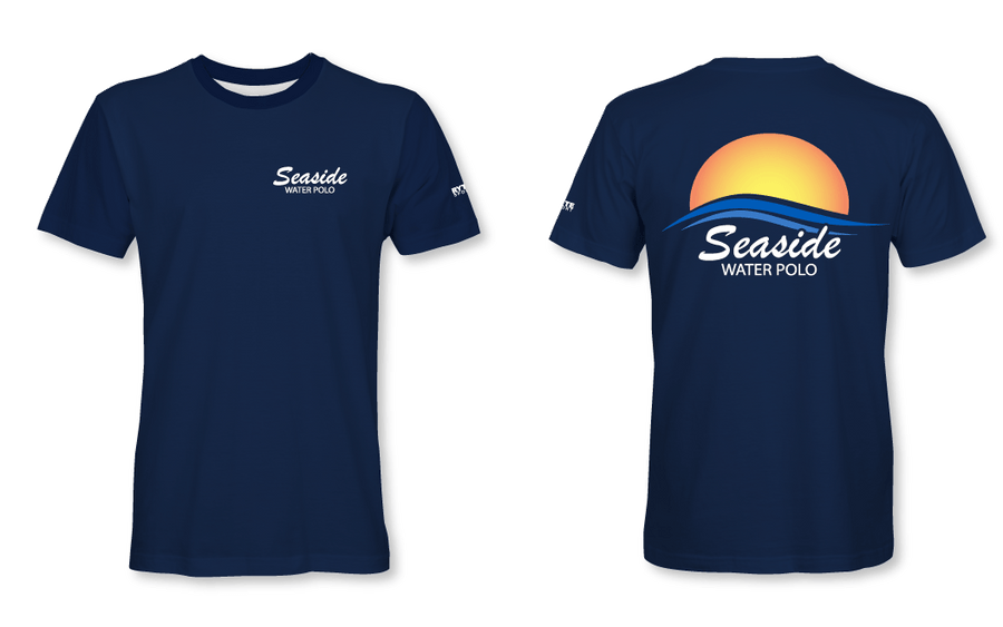 Seaside Water Polo Club Youth T-Shirt 2019 Navy