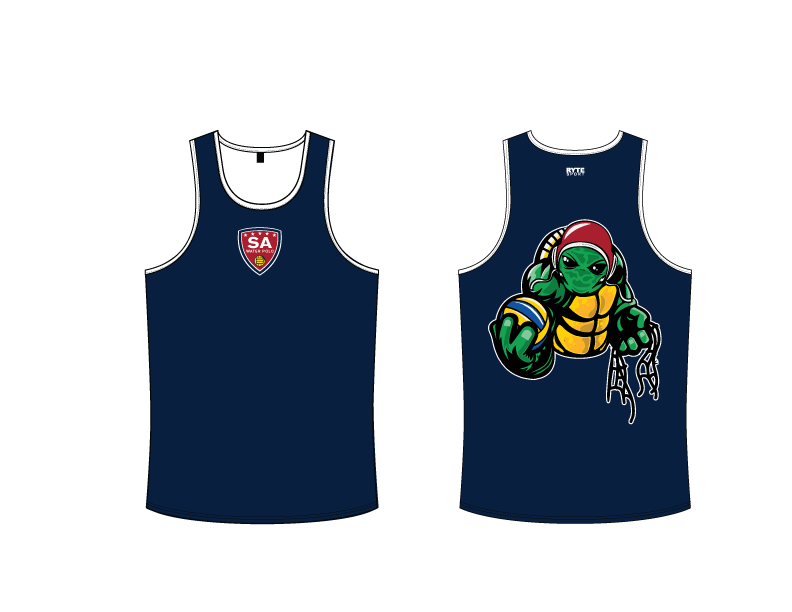 SA Water Polo Club - SHELLBACKS 2019 Custom Men's Tank Top