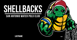 SA Water Polo Club - SHELLBACKS 2019 Custom Towel - Personalized