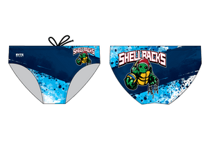 SA Water Polo Club - SHELLBACKS 2019 Blue Custom Men's Water Polo Brief