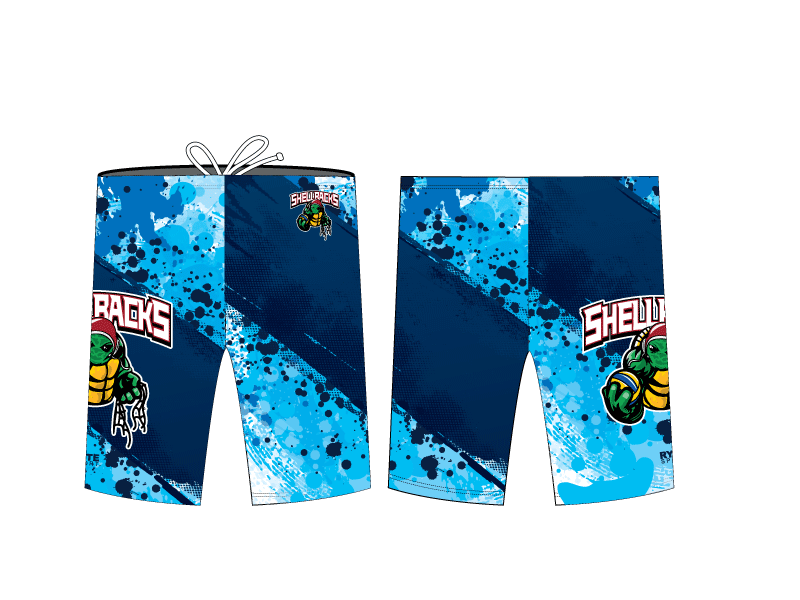 SA Water Polo Club - SHELLBACKS 2019 Blue Custom Men's Jammer
