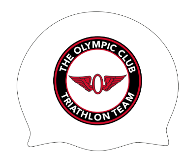 Olympic Club Triathlon Team Custom Sillicone Cap