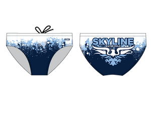 Skyline High School Water Polo 2019 Custom Men's Water Polo Brief - Personalized