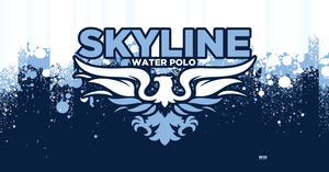 Skyline High School Water Polo 2019 Custom Towel - Personalized