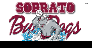 Sobrato High School Water Polo 2019 Custom Towel - Personalized