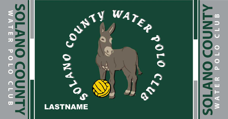 Solano County Water Polo Club Custom Towel