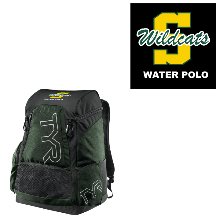 Sonora Union High School Water Polo 2019 Custom TYR Alliance Backpack 45L