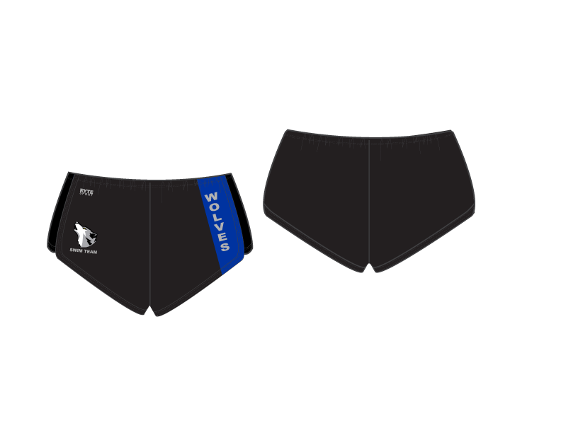 Saint Francis Catholic Academy Swim Team 2019 Custom Women's Walk Short