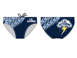 IE Storm Water Polo Club Custom Men's Water Polo Brief