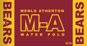 M-A Girls Water Polo Custom Towel