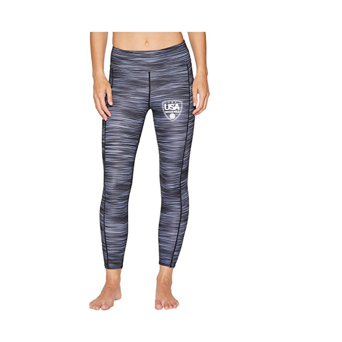 USA Water Polo - TYR Women's Kalani ¾ Leggings