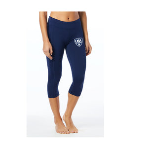 USA Water Polo - TYR Women's Kalani Capri Leggings