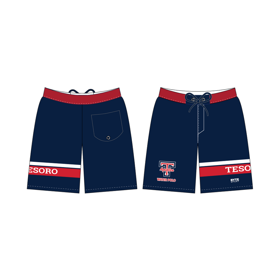 Tesoro High School Water Polo 2019 Custom Men's Boardshort