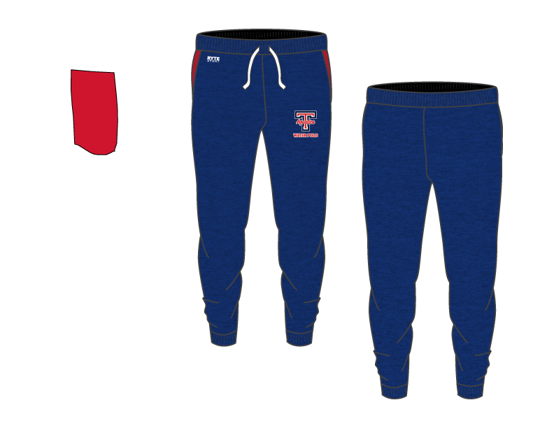 Tesoro High School Water Polo 2019 Custom Adult Unisex Heathered Navy Jogger Sweatpants