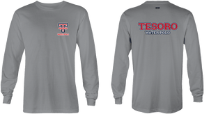 Tesoro High School Water Polo 2019 Custom Gray Long Sleeve Men's T-Shirt