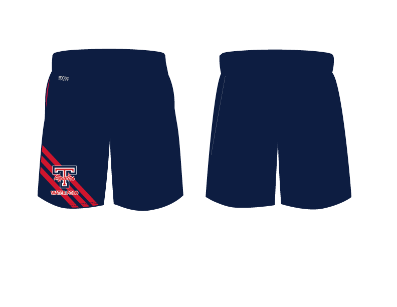 Tesoro High School Water Polo 2019 Custom Men's Gym Short