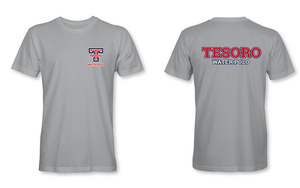 Tesoro High School Water Polo 2019 Custom Gray Men's T-Shirt
