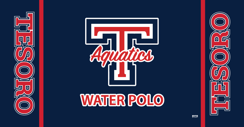Tesoro High School Water Polo 2019 Custom Towel - Personalized