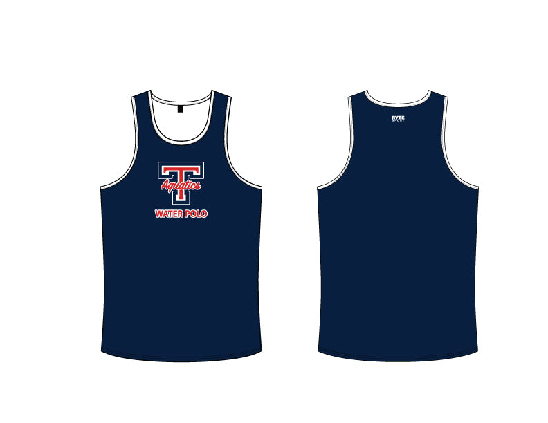 Tesoro High School Water Polo 2019 Custom Navy Men's Tank Top