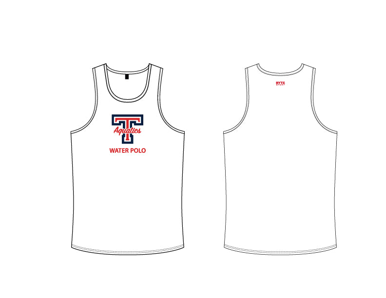 Tesoro High School Water Polo 2019 Custom White Men's Tank Top