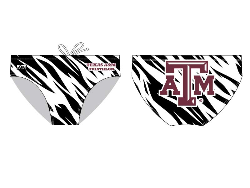 Texas A&M Custom Men's Water Polo Suit