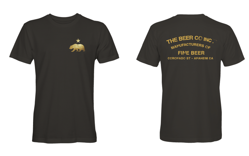 The Beer Co. Original Black Men's T-Shirt