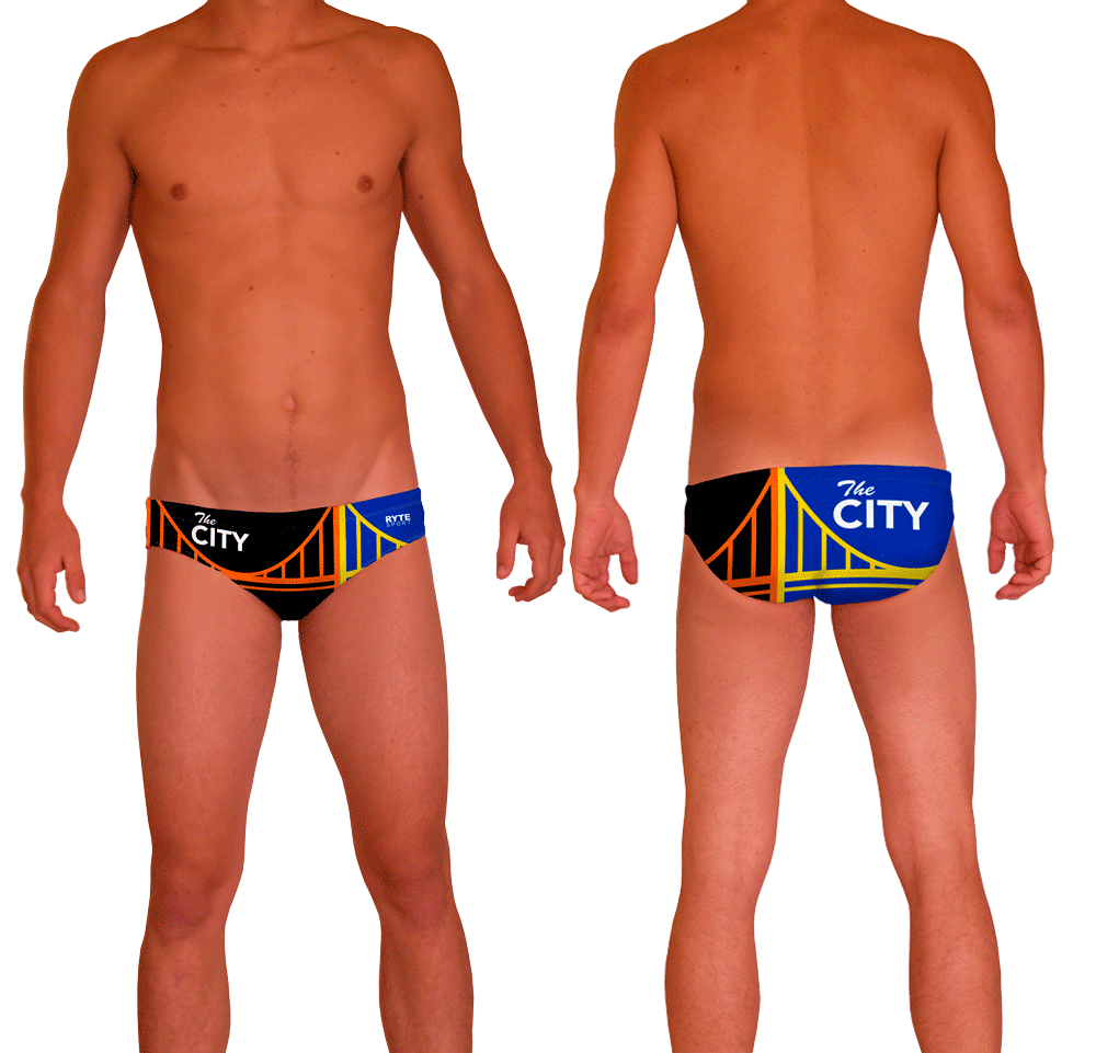 The City Men's Water Polo Suit