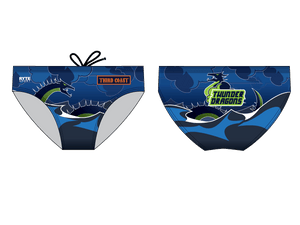 Third Coast Aquatics Blue Custom Men's Swim & Water Polo Brief