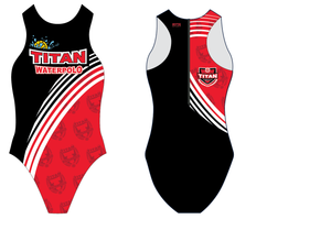 Titan Water Polo Club Custom Women's Water Polo Suit