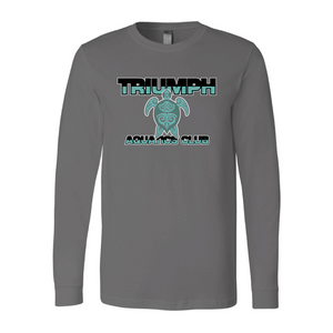 Triumph Aquatics Club Custom Charcoal Unisex Jersey Long Sleeve Tee