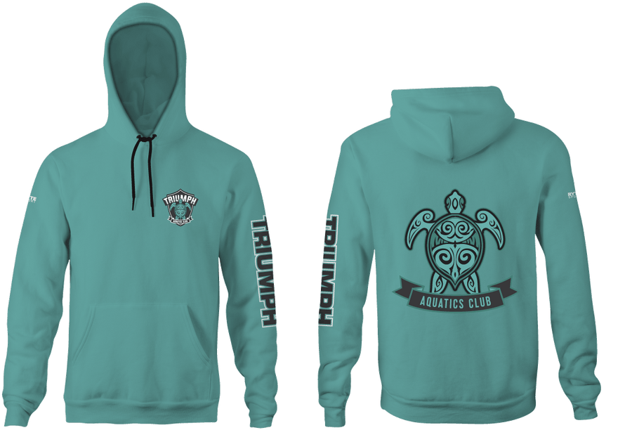 Triumph Aquatics Club Custom Unisex Youth Hooded Sweatshirt
