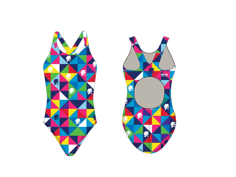 Trojan Aquatics Custom Women's Thick Strap Swimsuit