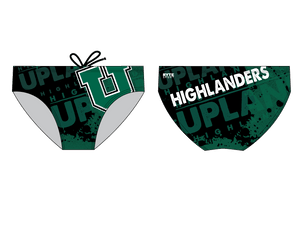 Upland High School Water Polo 2019 Custom Men's Water Polo Brief - Personalized