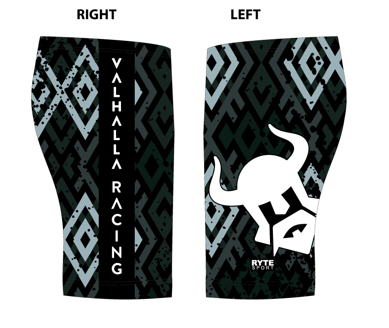 Valhalla Racing Custom Black Men's Jammer