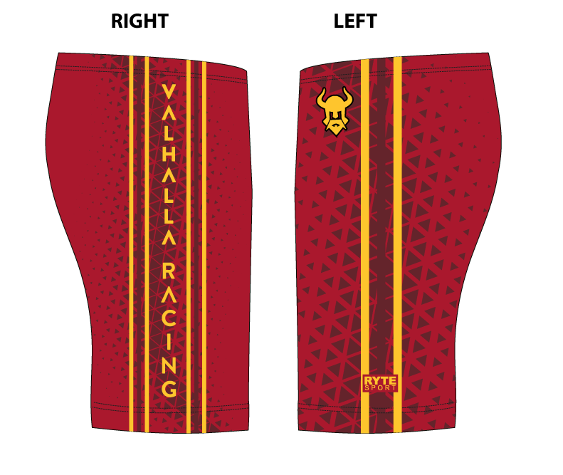 Valhalla Racing Custom Red Men's Jammer