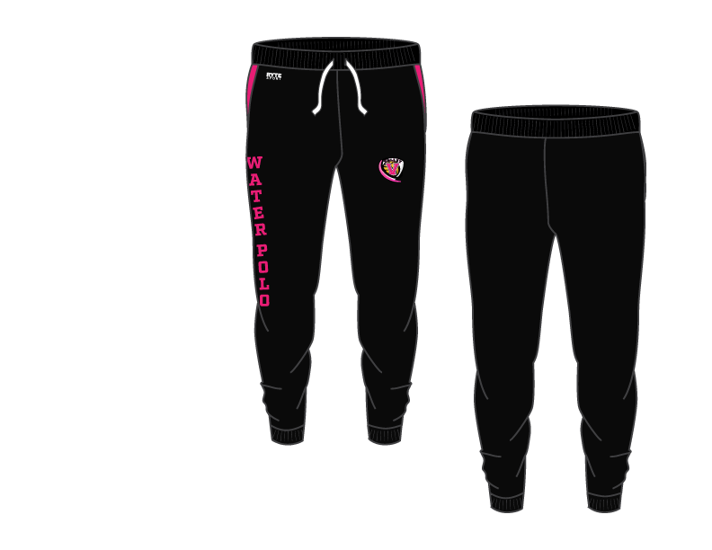 Valley Water Polo Adult Unisex Heathered Black Jogger Sweatpants
