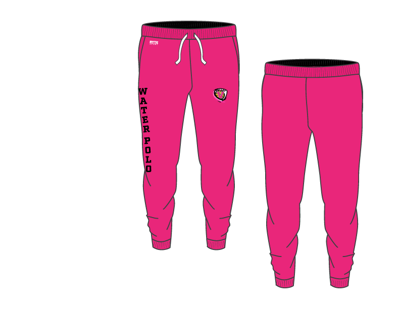 Valley Water Polo Adult Unisex Heathered Pink Jogger Sweatpants